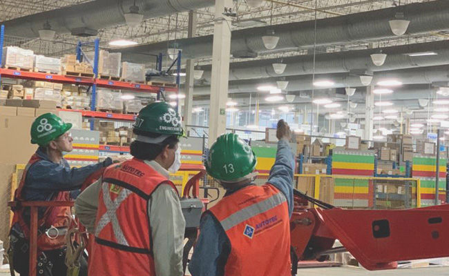 reubicación de plantas industriales