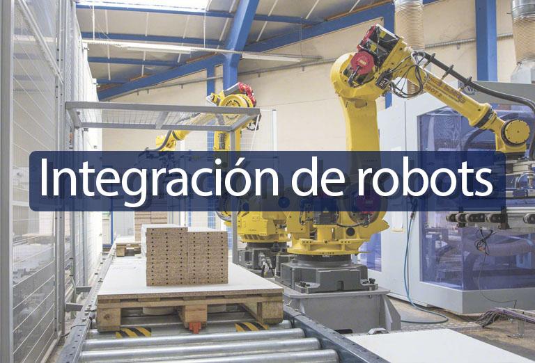 Integración de robots