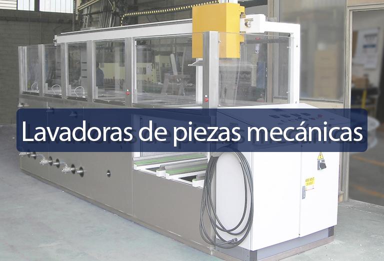 Lavadora de piezas mecanicas